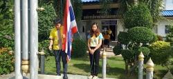 กิจกรรมเคารพธงชาติเพื่อความสามัคคีปรองดองอย่างพร้อมเพรียง สัปดาห์ที่ 19 (วันที่ 8 ก.ค. 62)