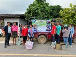 กิจกรรมออกเยี่ยมครัวเรือนบริหารจัดการขยะ หมู่บ้านต้นเเบบ