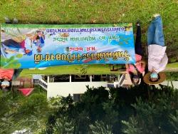 """25 พฤษภาคม 2564  กิจกรรมปลูกต้นไม้ ภายใต้ ชื่อ """"รวมใจไทย ปลูกต้นไม้ เพื่อแผ่นดิน"""" (2)"""